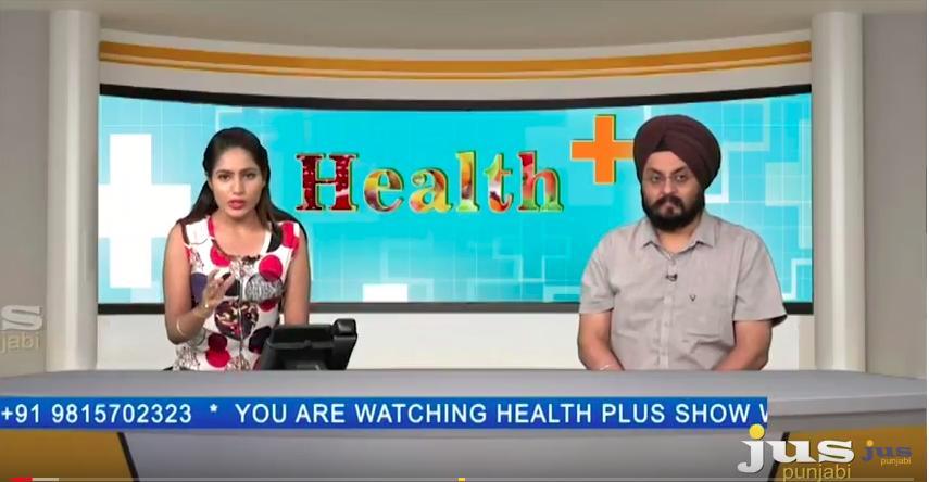 Live Program on Jus Punjabi With Dr. Brijinder Singh Rana (Eye Specialist)
