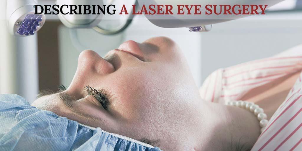 Describing a Laser Eye Surgery