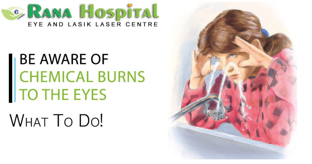 Be Aware of Chemical Burns to the Eyes: What to do!