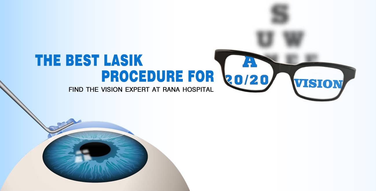 Lasik Laser Surgery in India
